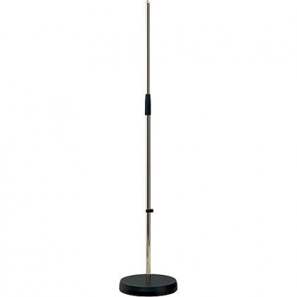 K&M 26010-500-01 Microphone Stand Round Base